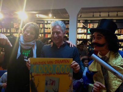 Harmen van Straaten verkoopt 1.000.000 boeken!